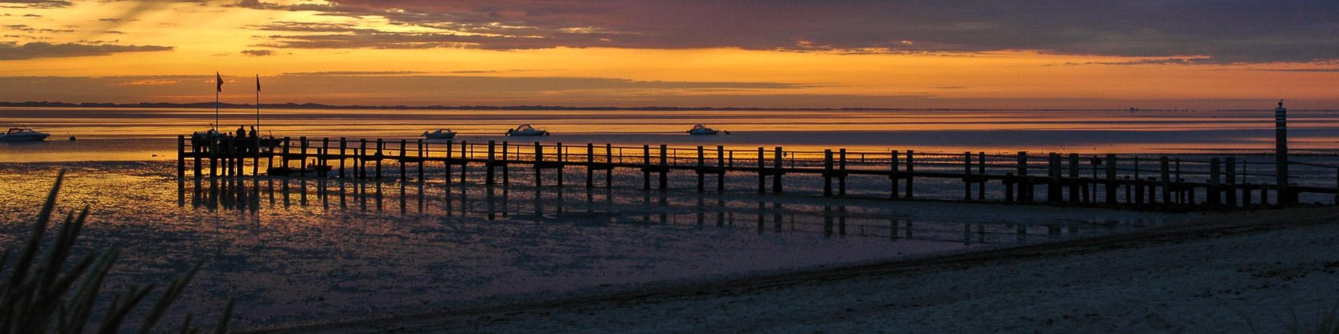 Am Strand in Utersum auf Föhr